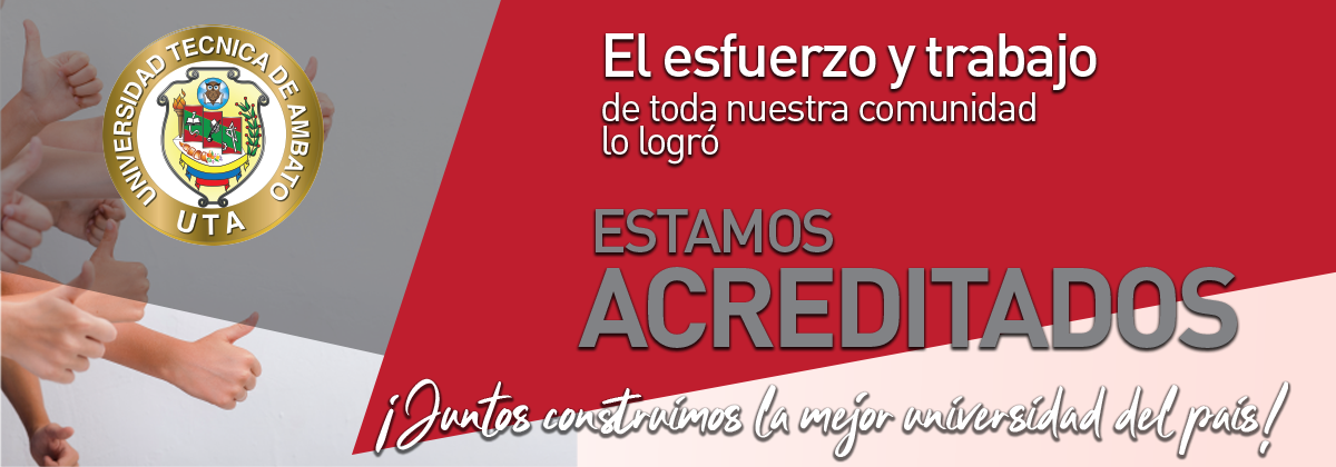 Estamos Acreditados U.T.A.!