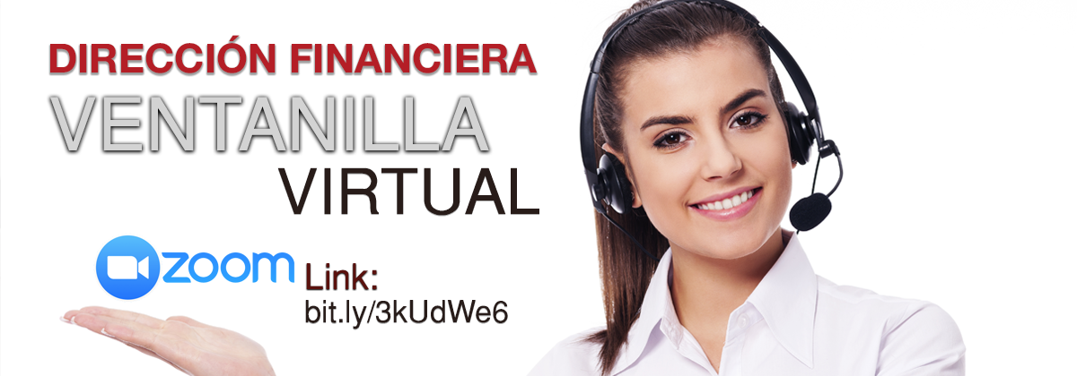 Dirección Financiera Ventanilla Virtual
